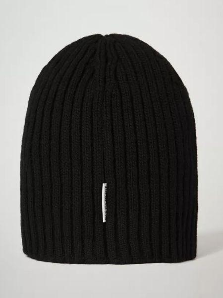 Шерстяная шапка бини - черная Napapijri