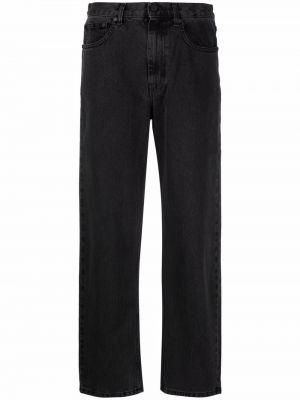 Широкие джинсы - черные Mcq