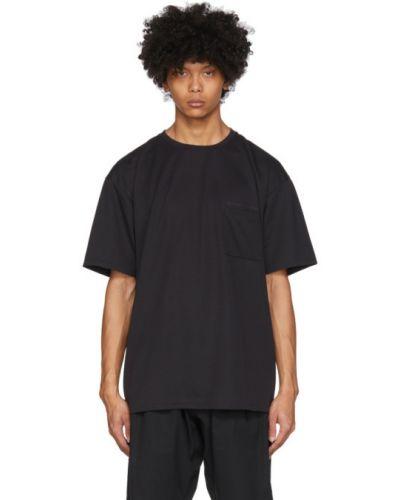 Czarny t-shirt z długimi rękawami Minotaur