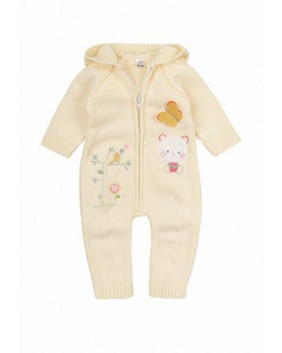 Комбинезон текстильный желтый фламинго текстиль