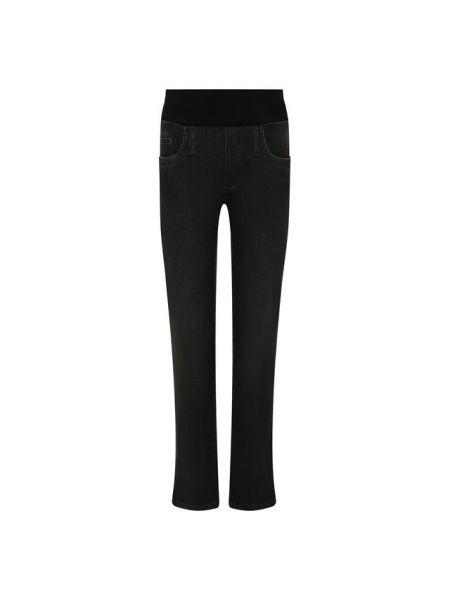 Хлопковые серые джинсы Pietro Brunelli