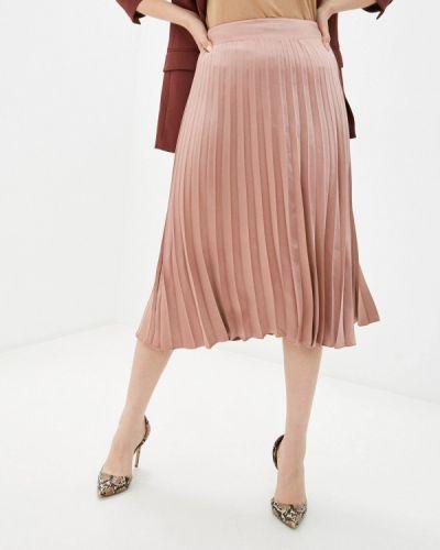 Розовая плиссированная юбка Rinascimento