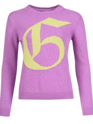 Кашемировый свитер - фиолетовый Mangano