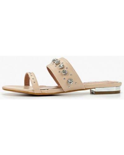 Сабо на каблуке бежевые Inario