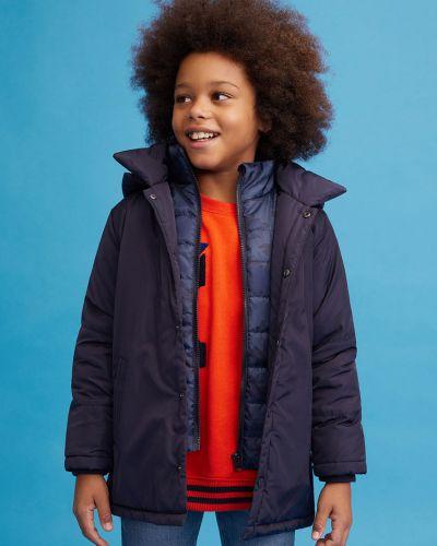 Куртка с капюшоном водонепроницаемая Mango Kids