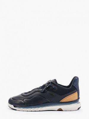 Низкие кроссовки - синие Geox
