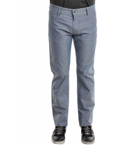 Хлопковые джинсы - синие Mac Jeans