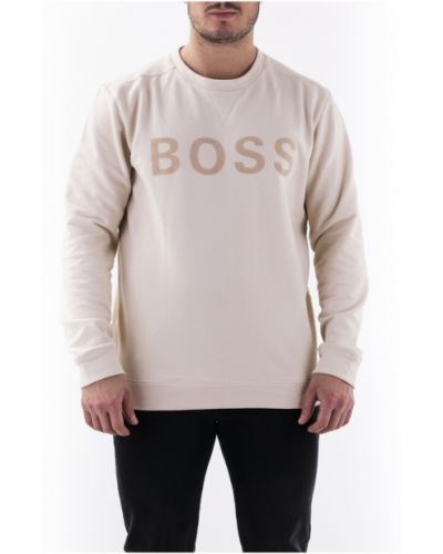 Beżowy sweter Hugo Boss
