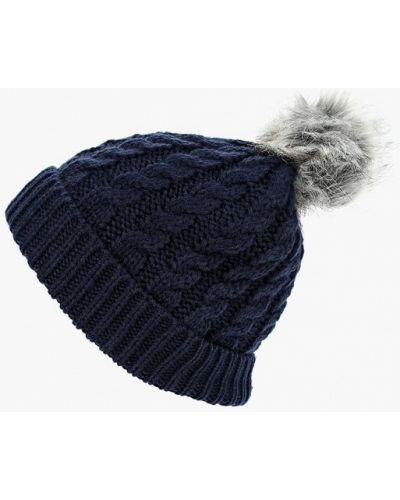 Синяя шапка осенняя Marks & Spencer