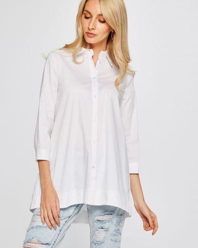 Блузка однотонная белая Answear