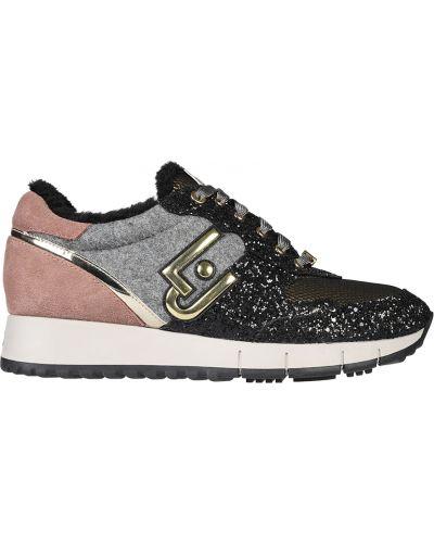Кроссовки замшевые Liu Jo