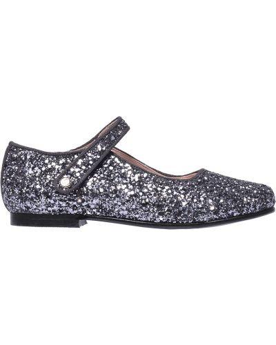 Туфли серебряный Jacadi Paris