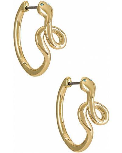 Klasyczne złote kolczyki sztyfty pozłacane Baublebar