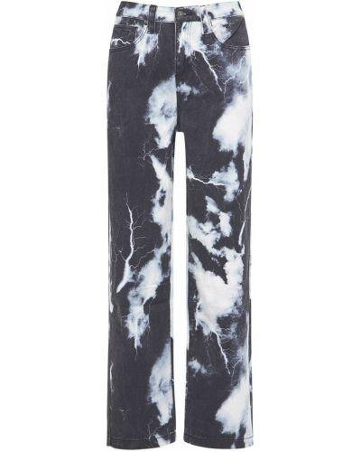 Черные джинсы с карманами Jaded London
