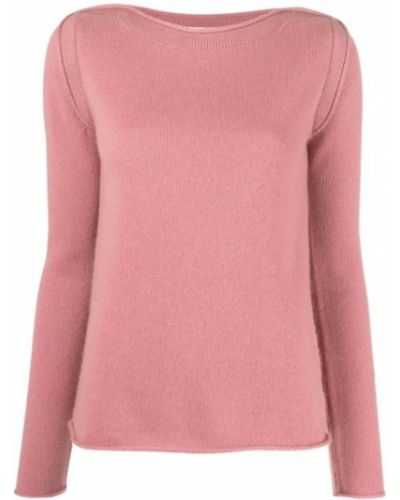 Różowy z kaszmiru sweter Theory