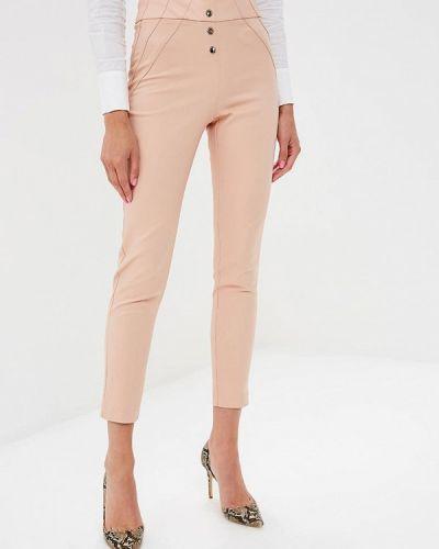 Розовые брюки с завышенной талией Love Republic