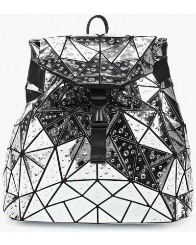 Рюкзак из серебра серебряный Vitacci