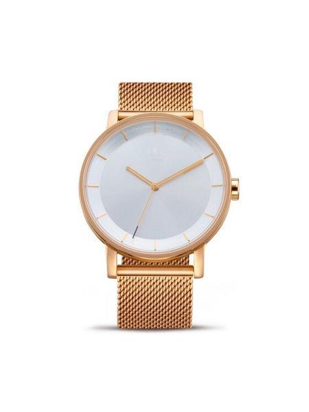 Złoty zegarek Adidas