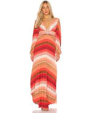 Платье макси на молнии бразильское Iorane