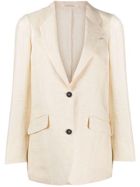 Пиджак на пуговицах с лацканами Massimo Alba