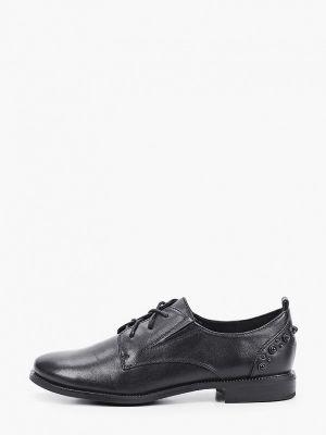 Черные весенние туфли Enzo Logana