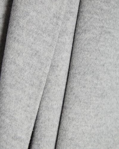 Длинное пальто серое пальто-халат Joseph