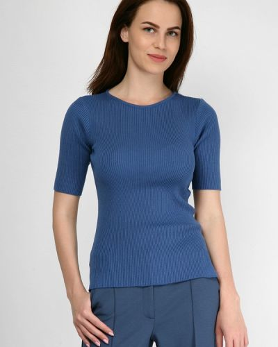 Синий лонгслив Wardrobe.selected Clothes