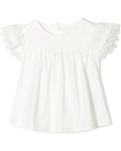 Biała t-shirt Chloe
