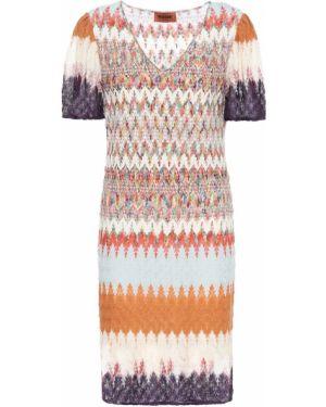 Платье миди вязаное теплое Missoni