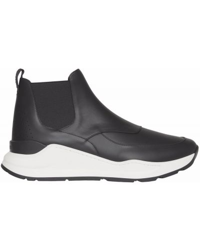 Черные ботинки из полиуретана Burberry