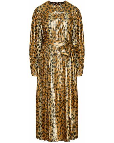Платье миди леопардовое с поясом The Marc Jacobs