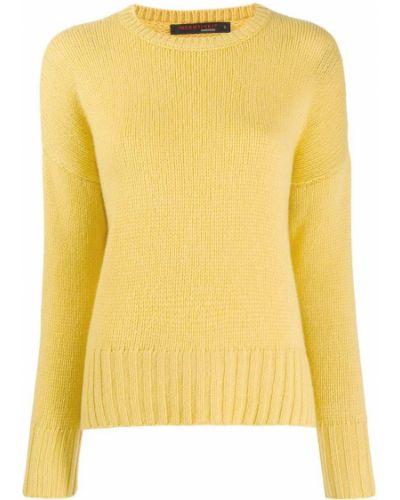 Желтый джемпер со спущенными плечами Incentive! Cashmere
