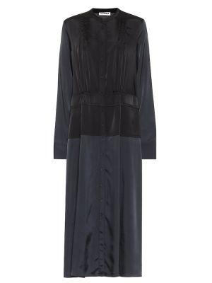 Платье миди - черное Jil Sander