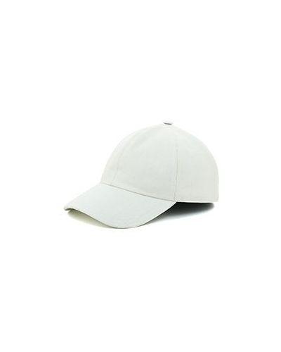 Шерстяная белая кепка Enrico Mandelli