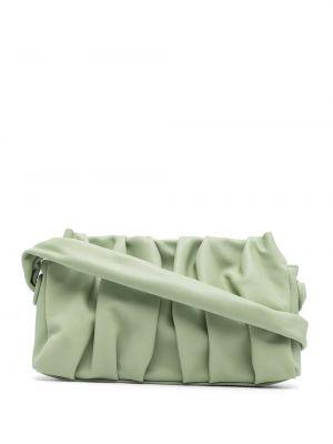 Zielona torba na ramię skórzana Elleme