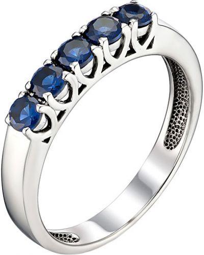 Синее кольцо c сапфиром Imperial
