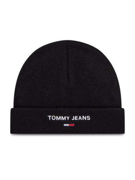 Czarna czapka beanie Tommy Jeans