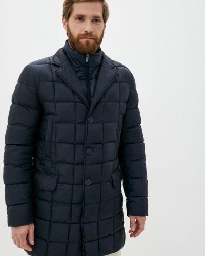 Черная теплая куртка Madzerini