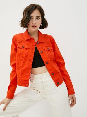 Красная джинсовая куртка Noisy May