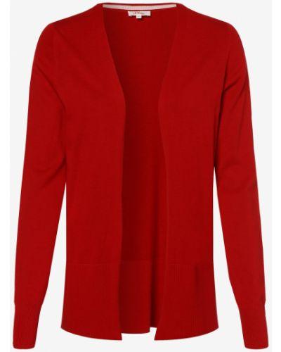 Czerwony garnitur na co dzień dzianinowy S.oliver