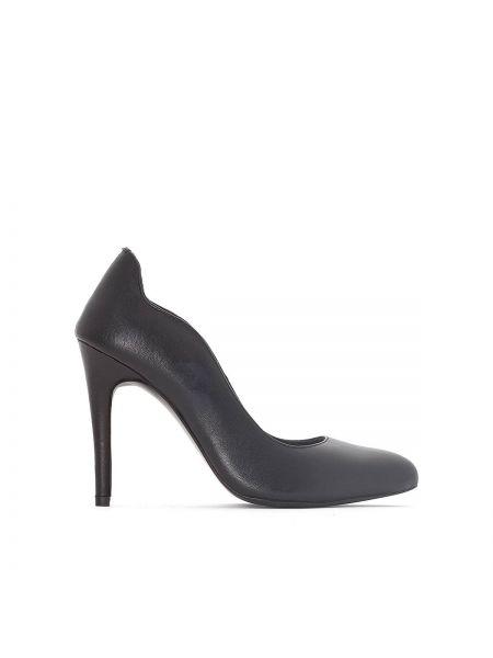 Туфли на высоком каблуке кожаные на каблуке Atelier R