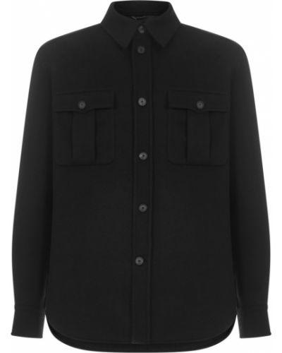 Czarna koszula Brioni