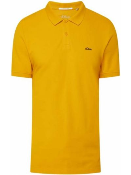 T-shirt bawełniana - żółta S.oliver Red Label