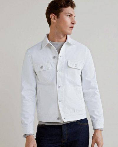 Джинсовая куртка белая Mango Man