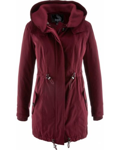 Зимняя куртка с капюшоном длинная Bonprix