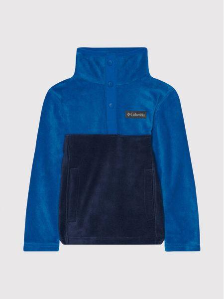 Bluza polarowa granatowa Columbia