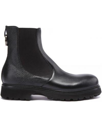 Кожаные ботинки на резинке круглые Rocco P.