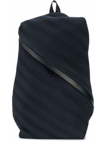Plecak - czarny Pleats Please Issey Miyake
