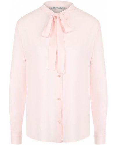 Блузка прямая на пуговицах Loro Piana