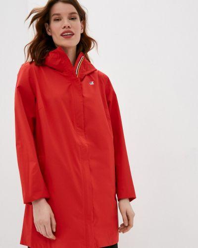 Облегченная красная куртка K-way
